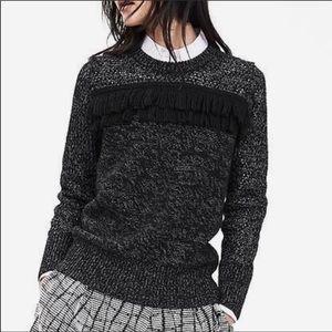 NWT Banana Republic fringe pullover sweater
